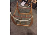 Mosses basket stand