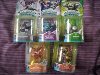 5 Different Skylanders Swapforce Figures - Brand new in packaging