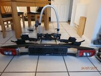 Bike Rack - 2 bikes - Westfalia Tow ball mounted - perfect for T5 barn doors or any other vehicle