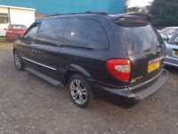 CHYRLSER GRAND VOYAGER 2.5 DIESEL, ( ANY OLD CAR PX WELCOME ) 2 OWNER EX LADY OWNED