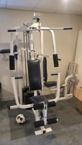 Weider home gym.