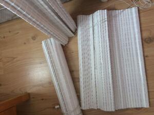 Toiles de bambou