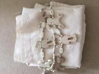 Nursery curtains with tie backs