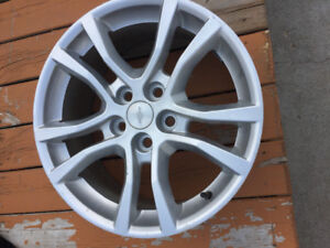 "4 Chevy 5 bolt 18"" alloy rims"