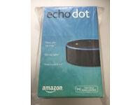 BRAND NEW UNOPENED Amazon Echo Dot Black hands-free voice controlled Digital Digital Media Streamer