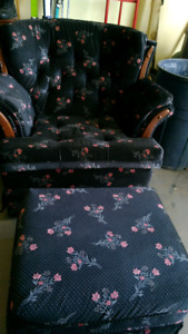 Comply Chair and Foot Stool