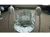 Baby swinging chair bright Start