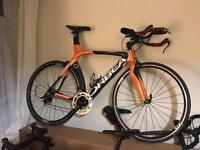 REDUCED Orbea Ordu Carbon TT / Triathlon bike - 55cm