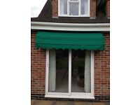 SunCanopy for patio door or window