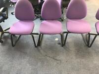 Purple Canter Leaver Chairs