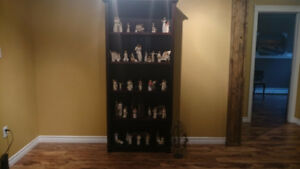 Book shelf with Willowtree Angel collection
