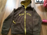 "Brownie Jacket, (34"" 90cm / 164+cm) slight marks at bottom but still lots of wear,"