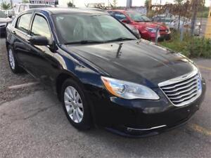 2012 Chrysler 200 Touring|82K|BLACK|