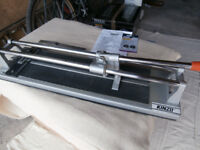 Manual tile cutter 400mm - 'Kinzo' model, boxed in excellent condition