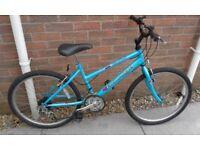 Girls / Ladies Raleigh Global Hybrid Mountain Bike Bicycle