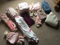 Baby Girl Bundle Clothes 0-3 months