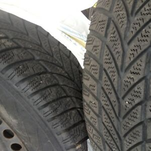 4 winter tires 195/70 R14 on rims
