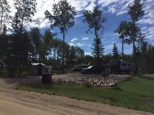 Titled Cabin Lake Lot for Sale