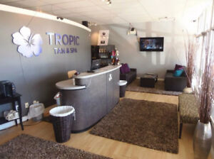 Busy Tanning Salon & Day Spa for sale $68,500 (MUST SEE!)