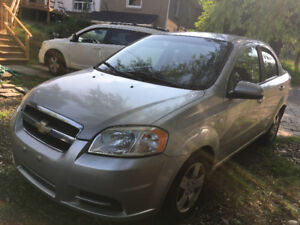 2008 Chevrolet Aveo LS/very clean.$3300.0nclud safety and E test