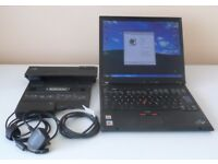 IBM T43 2GHz Thinkpad Laptop with Microsoft Windows XP Installed and IBM Port Replicator II Included