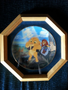 Lion King Collector Plate