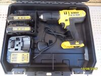 DEWALT AS NEW 18V HAMMER DRILL