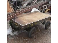Vintage Industrial cart trolley