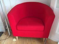 Armchair TULLSTA Red