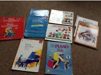 Piano music for Beginners. Useful for Grades 1 and 2.