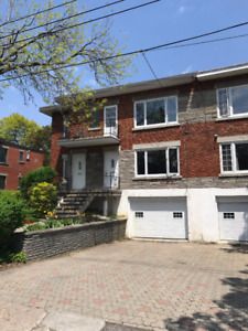 5 1/2 lower duplex for rent (City of Montreal-West)