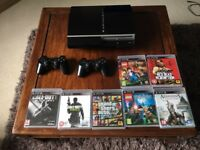 PlayStation 3 with 7 games!