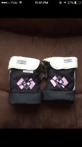 Stonz pink baby booties