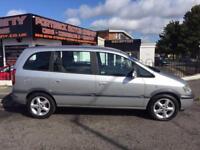 Vauxhall zafira 1.6 2004 low mileage 7 seater