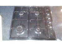 Gas hob and newworld electric oven