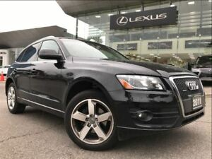 2011 Audi Q5 2.0L Premium Plus AWD Navi Backup Cam Sunroof