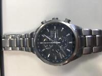 citizen eco drive world chronograph watch