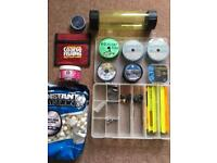 Various tackle items