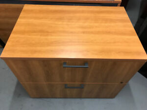 Light Brown Wooden Cabinet