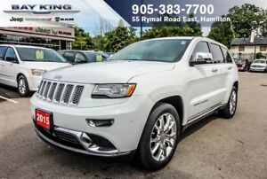 2015 Jeep Grand Cherokee SUMMT 4X4, NAVI, BLUETOOTH, BACK-UP CAM