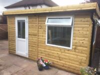 garden rooms - we build to suit your space and budget