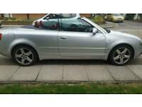 Audi A4 Convertible 1.8 petrol Turbo RED LEATHER SEATS