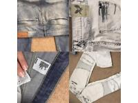 Jeans river Island new look
