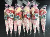 Sweet cones - great for birthdays, christenings, baby shower etc