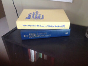 Strongs  Dictionary of Bible Words & Vines Expository Dictionary