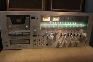 VINTAGE 1978 RE-1209 RECEIVER WITH SPEAKERS