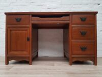 Mahogany Desk (DELIVERY AVAILABLE FOR THIS ITEM OF FURNITURE)