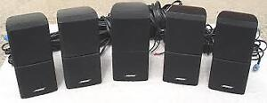 Bose 5.1 system (Acoustimass 7 sub, 5 double cubes and cables)
