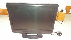 TV with DVD player and Remote. Venturer make.