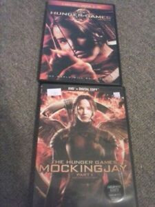 2 of the Hunger Games Movies on DVD